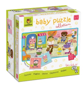 PUPPIES. DUDÃ« BABY PUZZLE COLLECTION