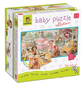 THE CITY. DUDÃ« BABY PUZZLE COLLECTION
