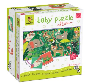 THE JUNGLE. DUDÃ« BABY PUZZLE COLLECTION